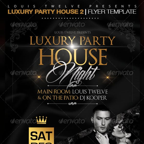 Luxury Party House 2 | Flyer Template