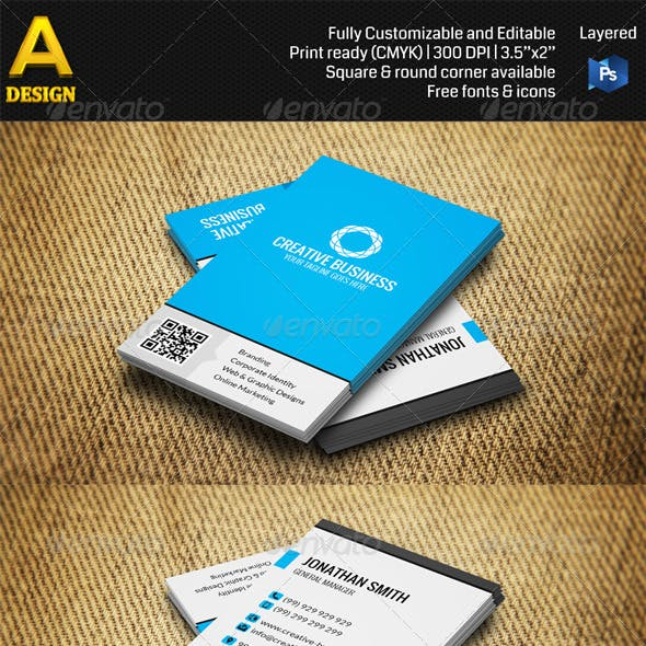 Corporate Business Card AN0303