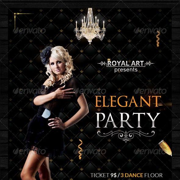 Flyer Elegant Party