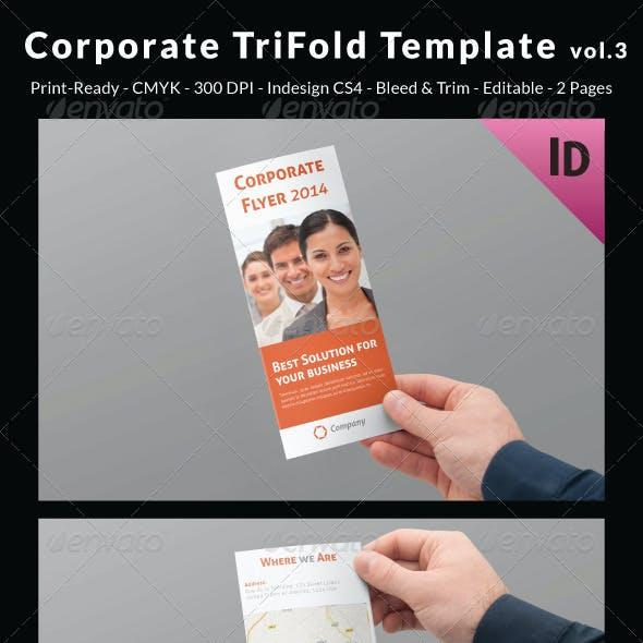 Corporate Trifold Template vol.3