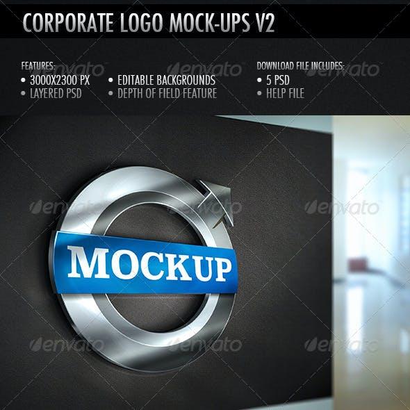 Corporate Logo Mockup V2