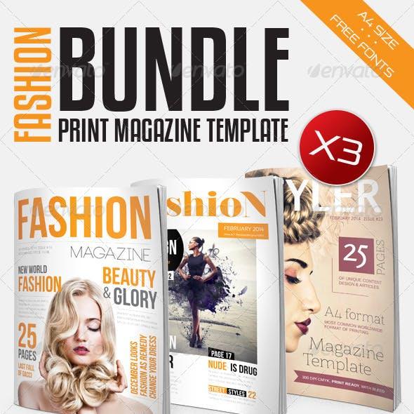 Fashion Magazine Bundle Vol1