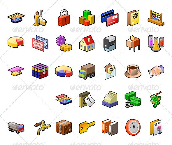 Food Industry Icon Set - Miscellaneous Seasons/Holidays
