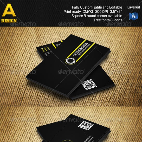 Minimal Business Card AN0310