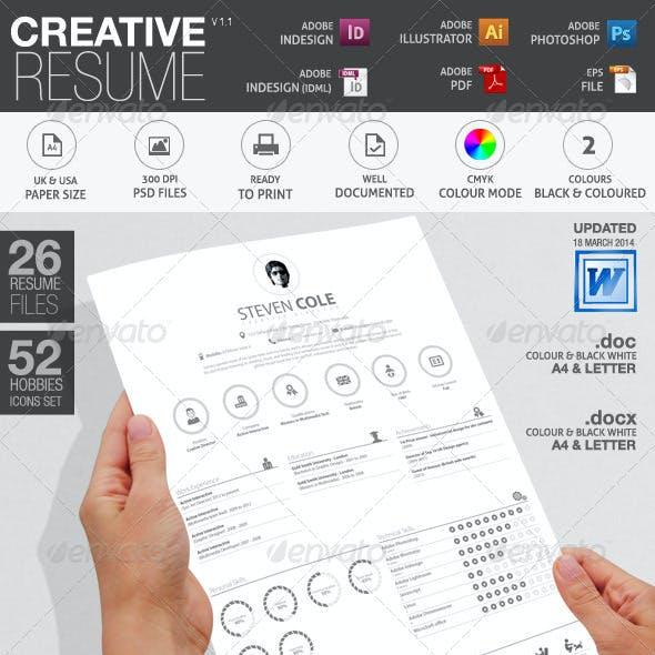 Simple Resume/CV