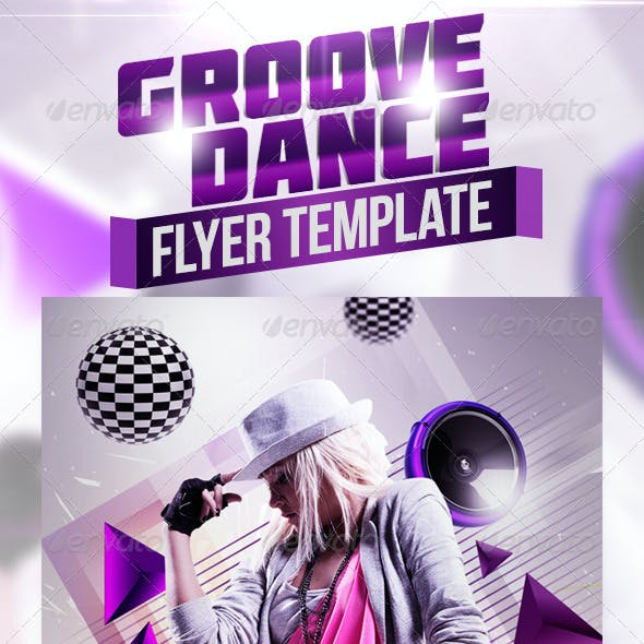 Groove Dance Flyer Template