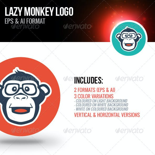 Lazy Monkey Logo