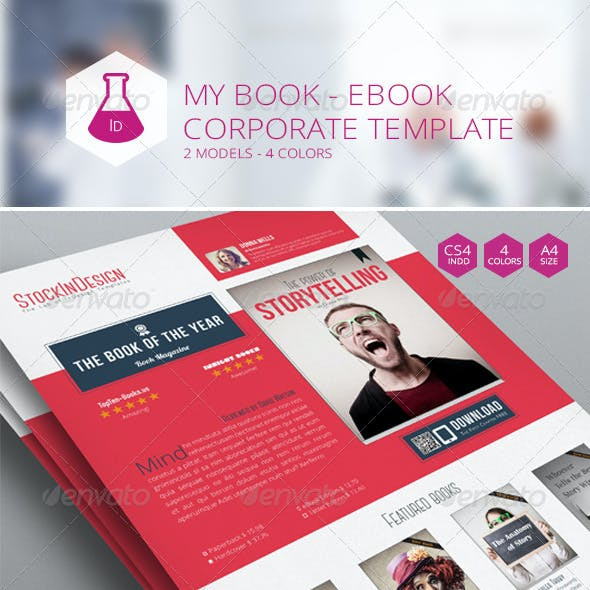 Ebook Flyer Graphics, Designs & Templates from GraphicRiver