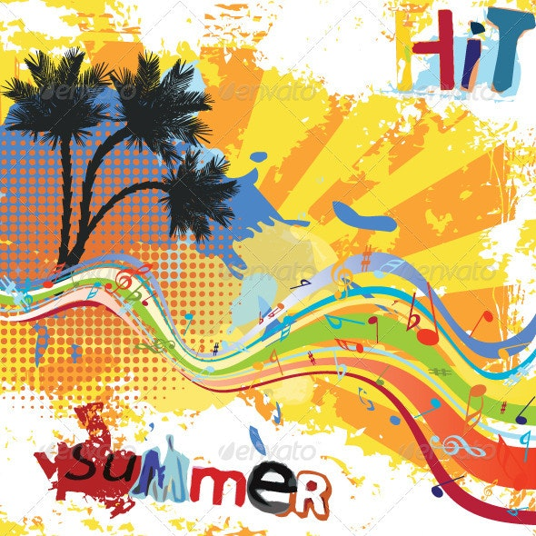 Summer Party Design - Seasons Nature