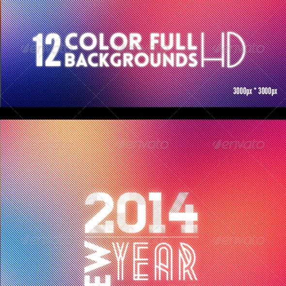 12 ColorFull Backgrounds