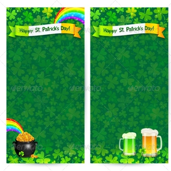 Green Patrick's Day Flyer Templates