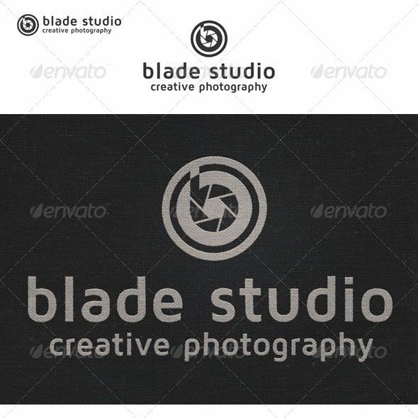 Blade Photo Studio Logo B