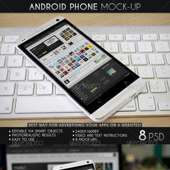 Android Phone Mock-Up