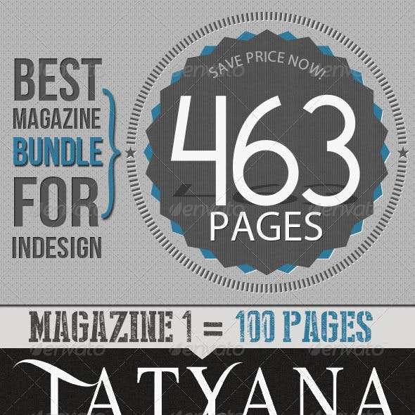 Magazine Bundle For Indesign