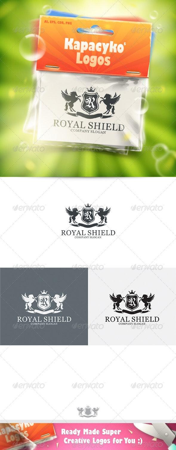 Royal Shield v.8 Logo - Crests Logo Templates