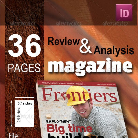 36 Pages Review & Analysis Magazine