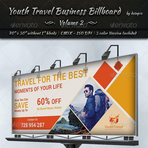 Travel / Tourism Business Billboard | Volume 3