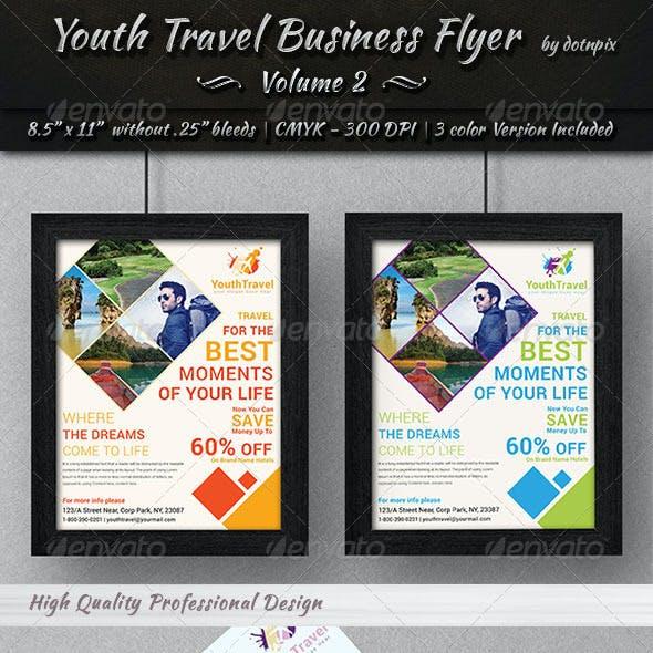 Travel / Tourism Business Flyer | Volume 3