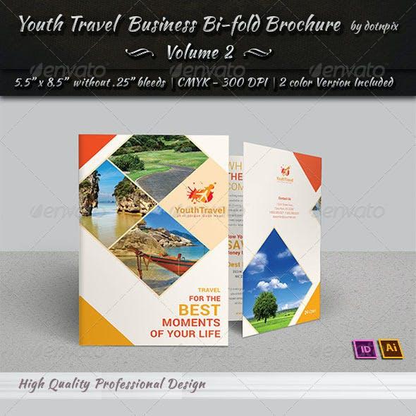 Travel | Tourism Bi-Fold Brochure | Volume 3