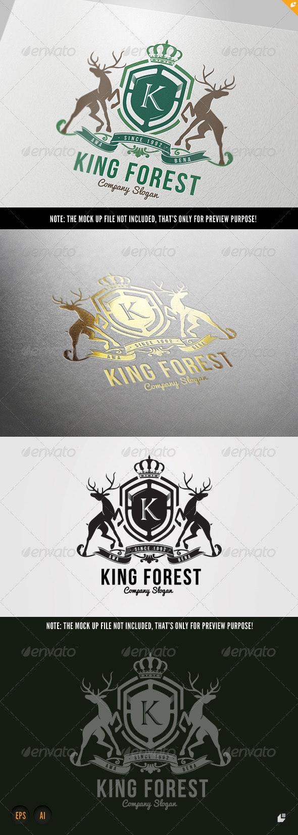 King Forest - Crests Logo Templates