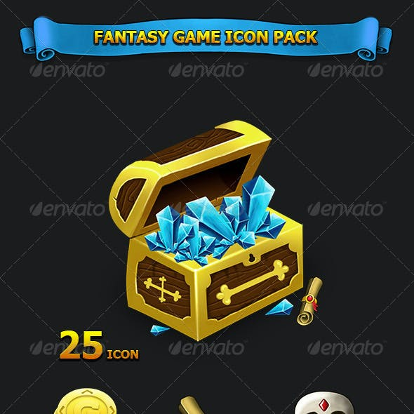 Fantasy Game Icon Pack
