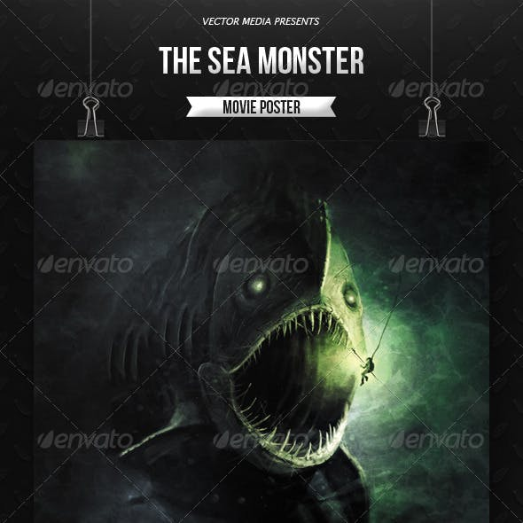 The Sea Monster - Movie Poster