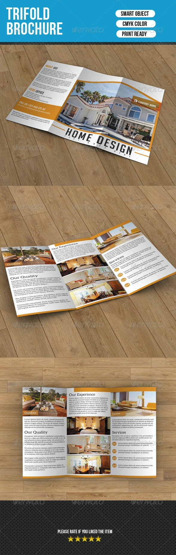 Trifold Brochure-Real Estate Company - Corporate Brochures