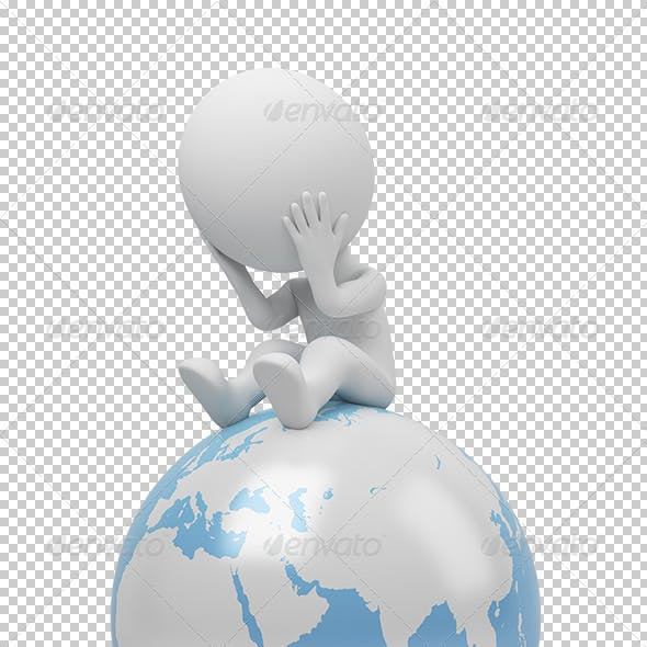 3D Small People - Global Question
