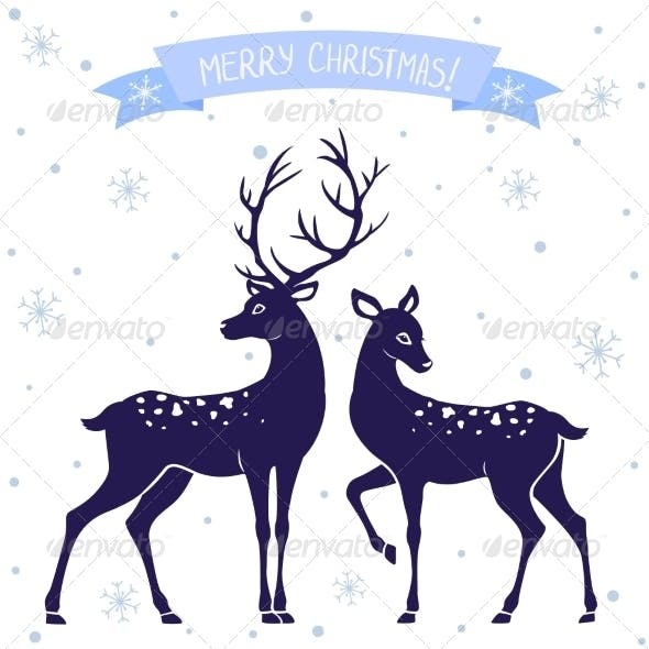 Deer Christmas