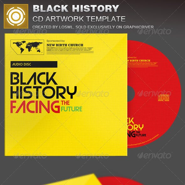 Black History Facing the Future CD Artwork