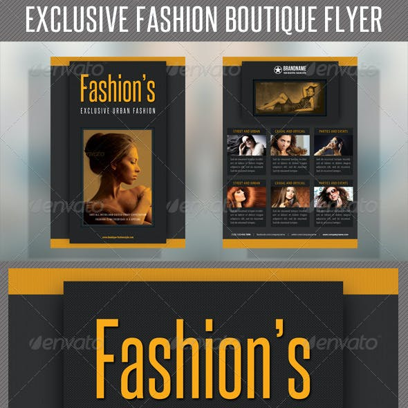 Fashion Product Flyer 43