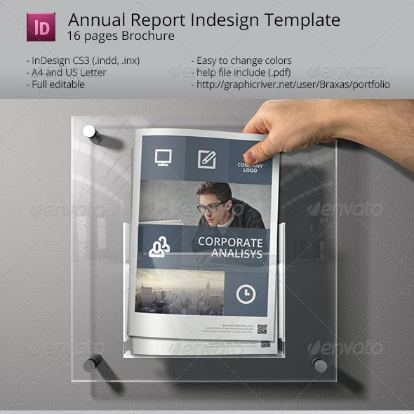 System Indesign Brochure Template - Sharp & Clean