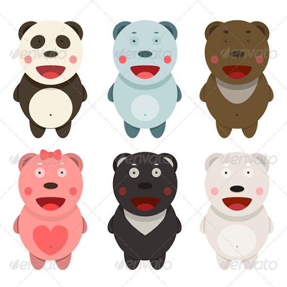 Kawaii Bears Collection