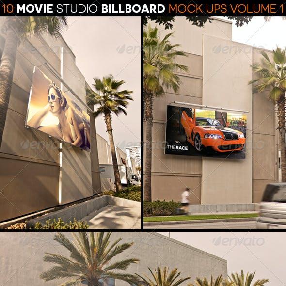 Movie Studio Billboard Mock Ups Volume 1