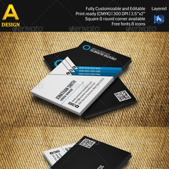Corporate Business Card Bundle ANB0015