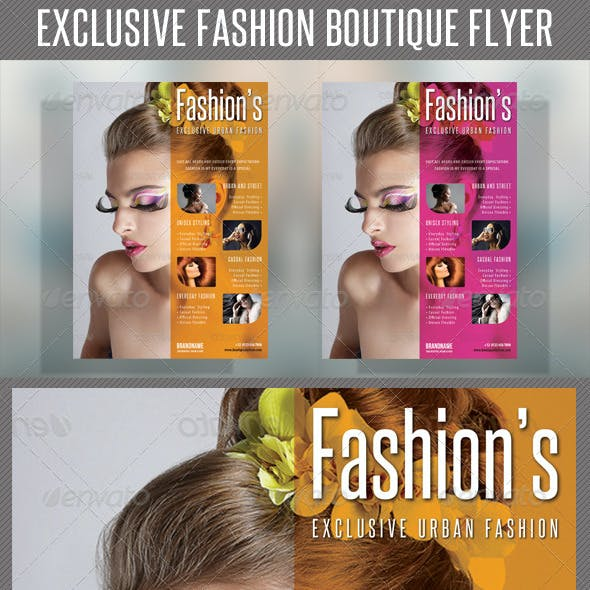 Fashion Product Flyer 44