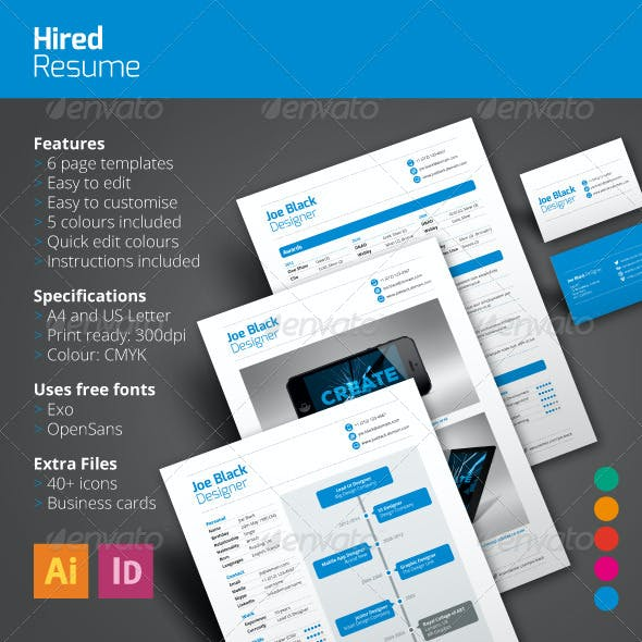 Hired Resume