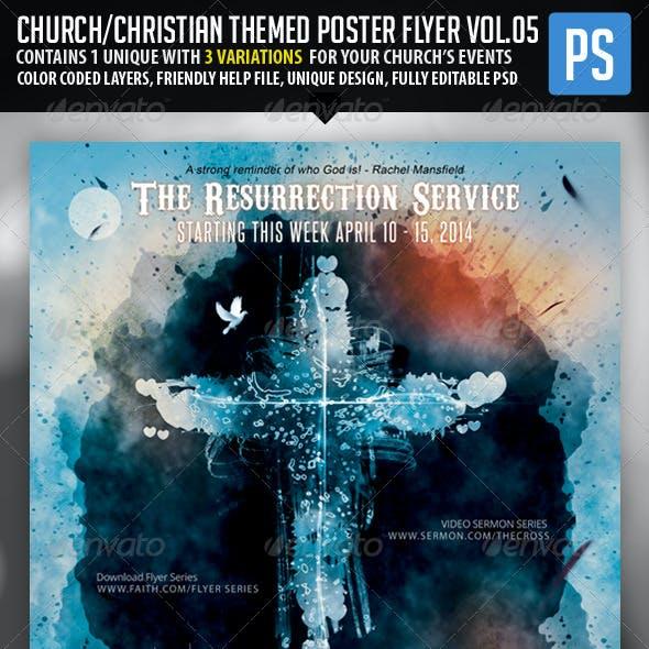 Church/Christian Themed Poster/Flyer Vol.5