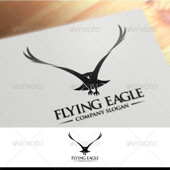 Flying Logo Template