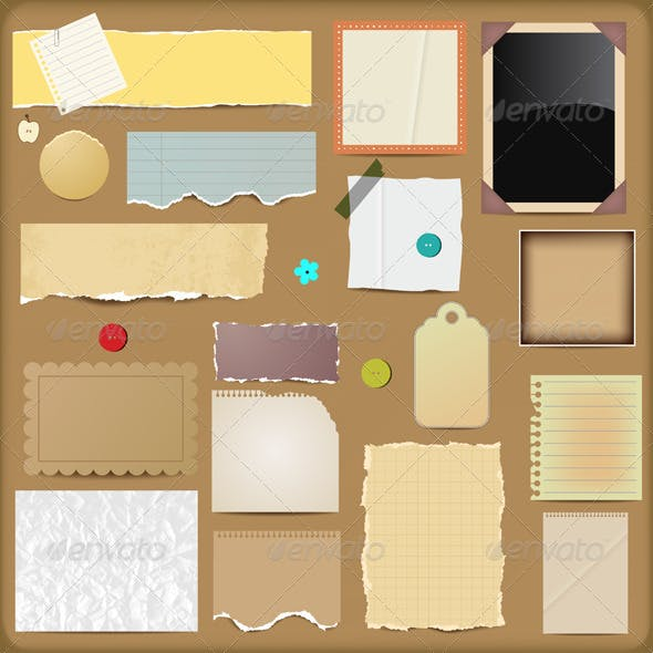 Scrapbooking Paper Elements