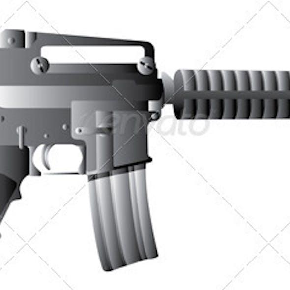 M16 Gun Rifle