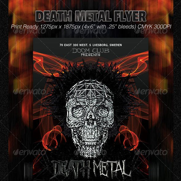 Death Metal Flyer
