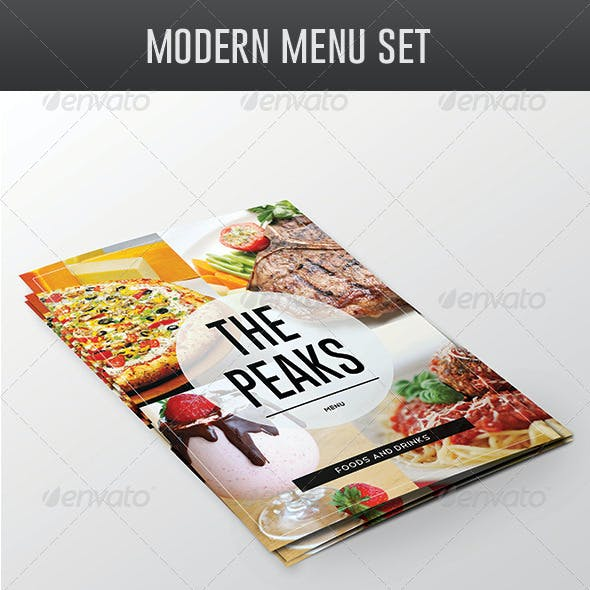 Modern Menu Pack