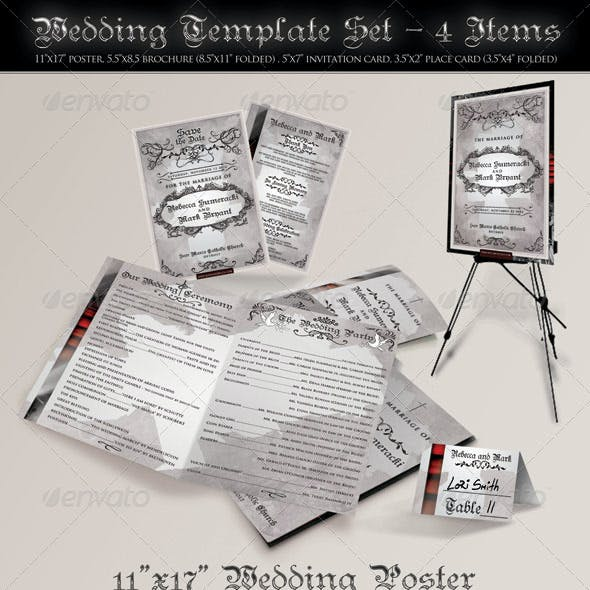 Wedding Template Pack
