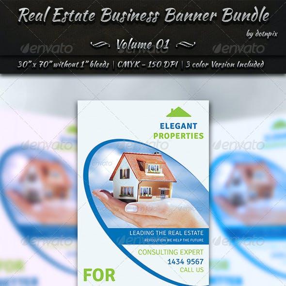 Real Estate Business Banner Bundle | Volume 1
