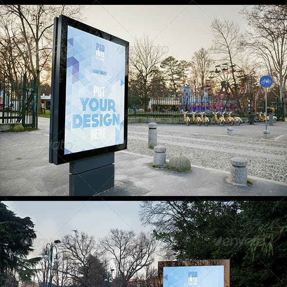 Urban Poster Mock up 2