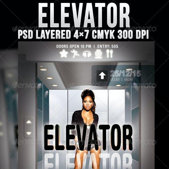 Elevator Flyer Template