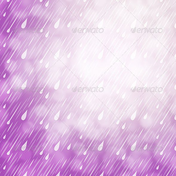 Rainfall Falling Graphics & Vectors from GraphicRiver