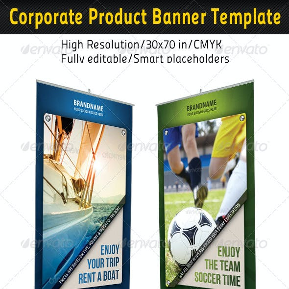 Corporate Multipurpose Banner Template 60