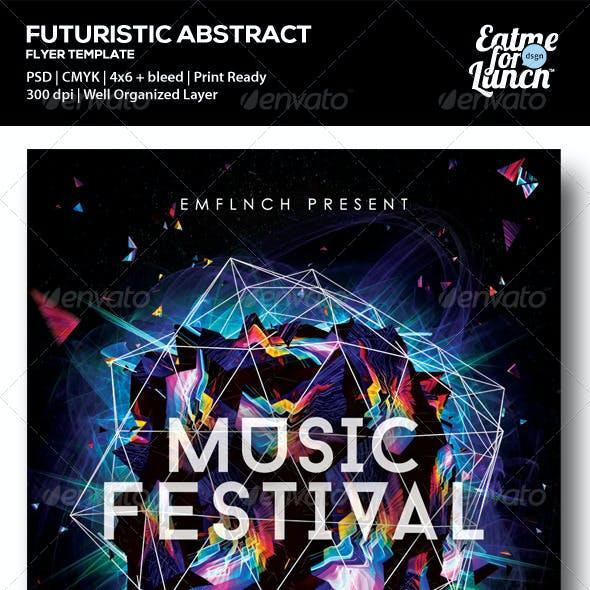 Futuristic Music/Gigs/Festival Flyer Templates